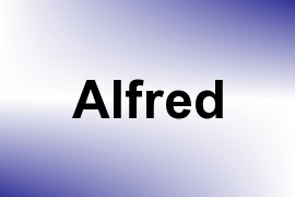 Alfred name image
