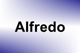 Alfredo name image