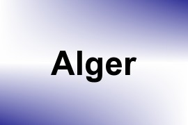 Alger name image