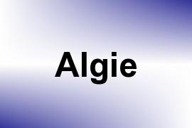 Algie name image
