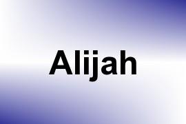 Alijah name image
