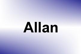 Allan name image