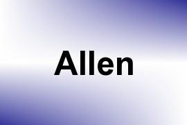 Allen name image