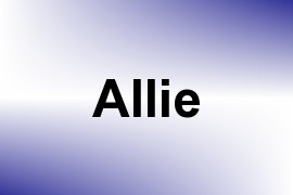 Allie name image