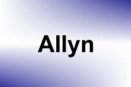 Allyn name image