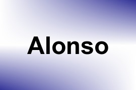 Alonso name image