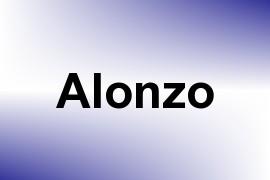 Alonzo name image