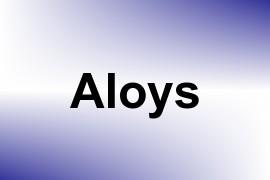 Aloys name image