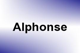 Alphonse name image