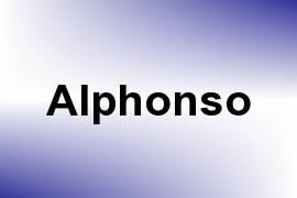 Alphonso name image