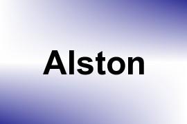 Alston name image