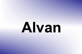 Alvan name image