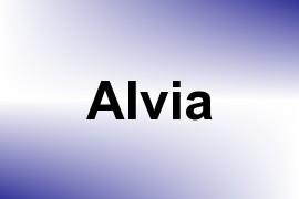 Alvia name image