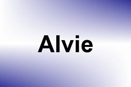 Alvie name image