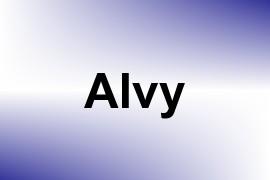 Alvy name image