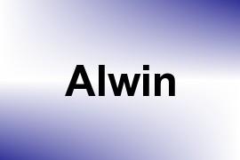 Alwin name image
