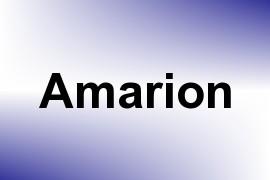 Amarion name image