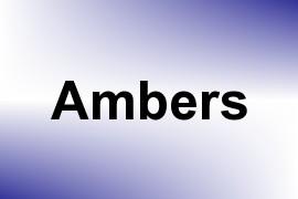 Ambers name image