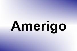 Amerigo name image