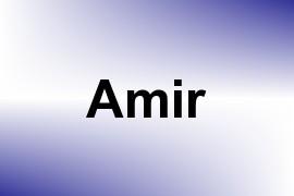 Amir name image