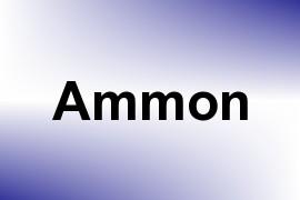 Ammon name image