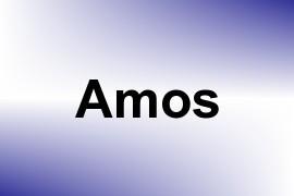 Amos name image