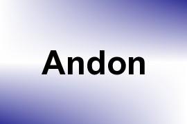 Andon name image