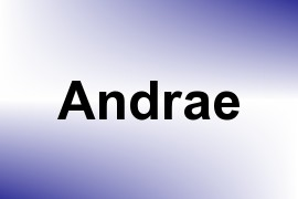 Andrae name image