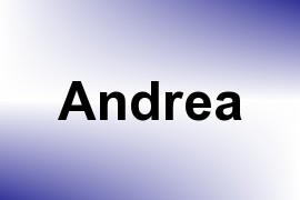 Andrea name image