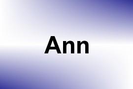 Ann name image