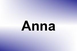 Anna name image