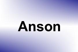 Anson name image