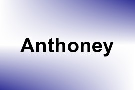 Anthoney name image