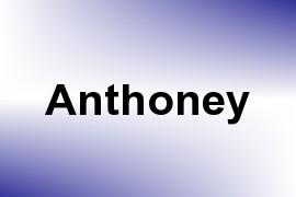 Anthoney name image