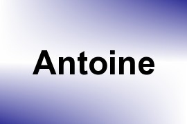 Antoine name image