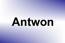 Antwon name image