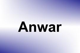 Anwar name image
