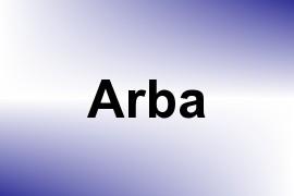 Arba name image
