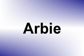 Arbie name image
