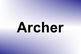 Archer name image