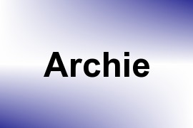 Archie name image