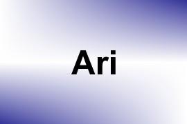 Ari name image