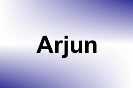 Arjun name image