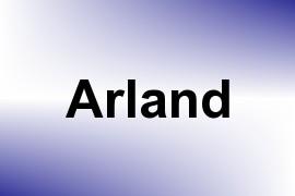 Arland name image