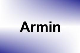 Armin name image