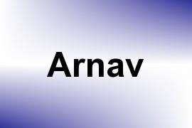 Arnav name image