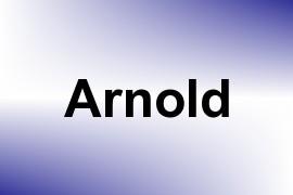 Arnold name image