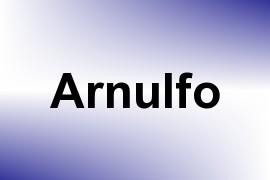 Arnulfo name image