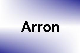 Arron name image
