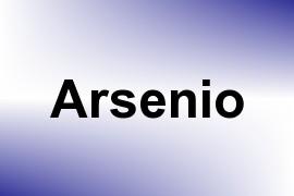 Arsenio name image
